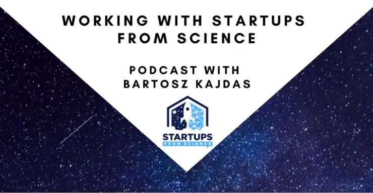 """e.Ray im Podcast """"Startups From Science"""""""